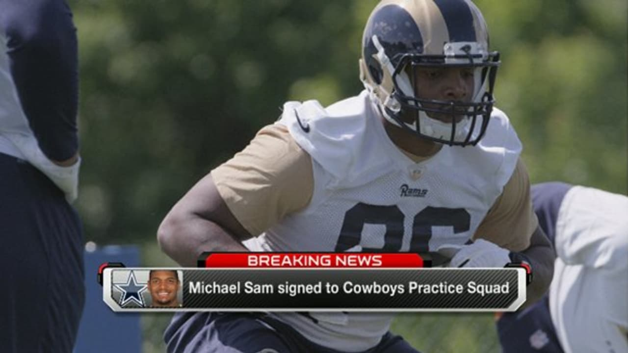 f78732977 Michael Sam signed to Dallas Cowboys practice squad