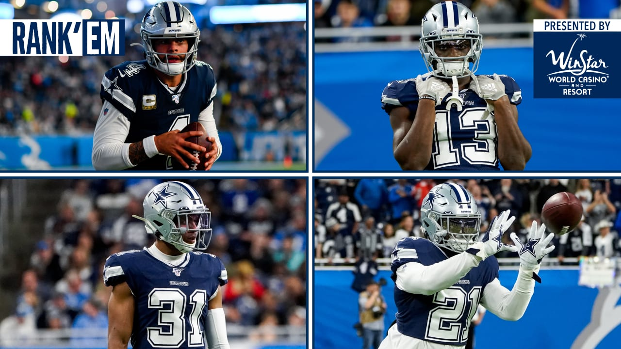 Rank'Em: These 10 Players Shined Against Detroit - DallasCowboys.com