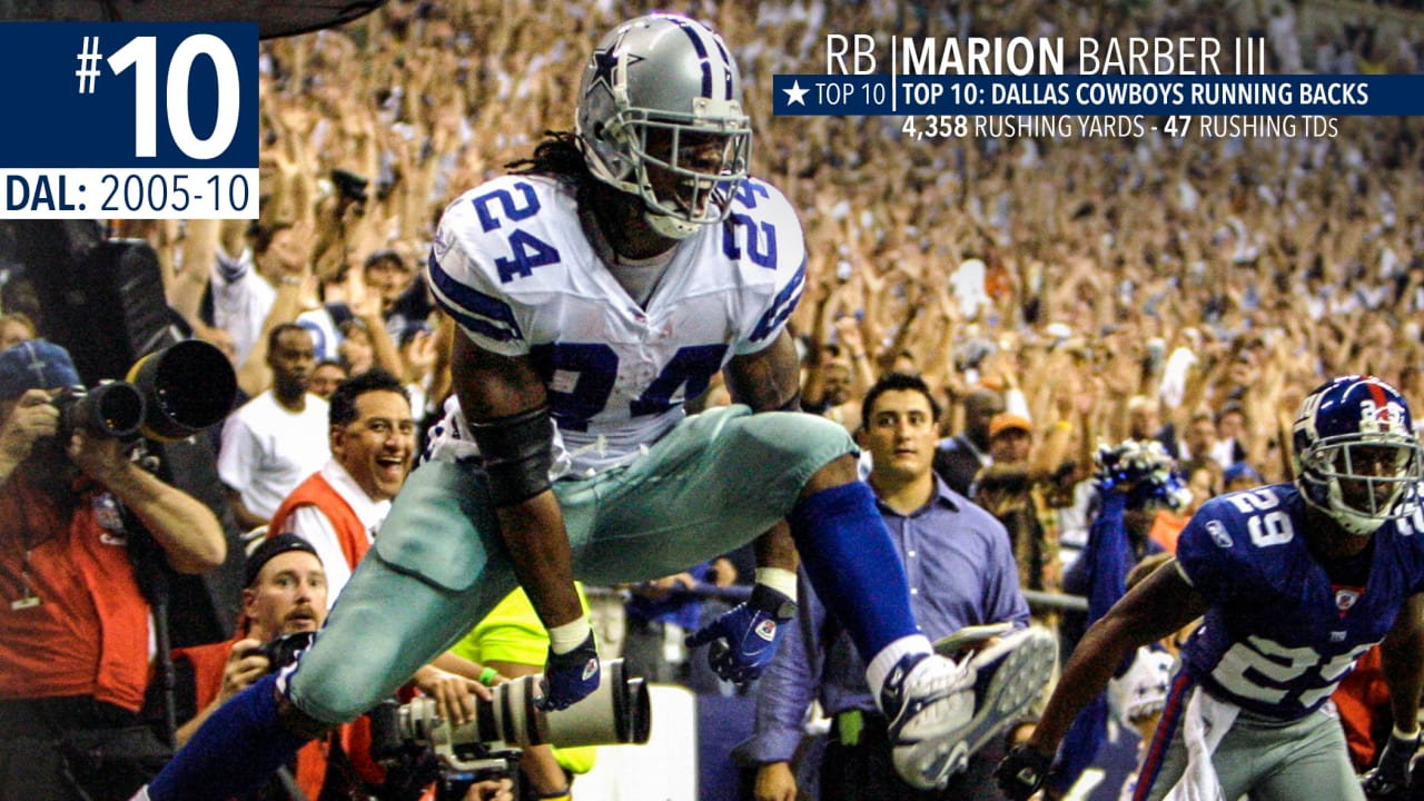 820f95401da Top 10: Where Zeke Fits on Dallas All-Time RB List