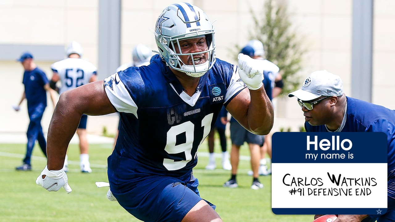 Role Call: What Carlos Watkins Adds To D-Line