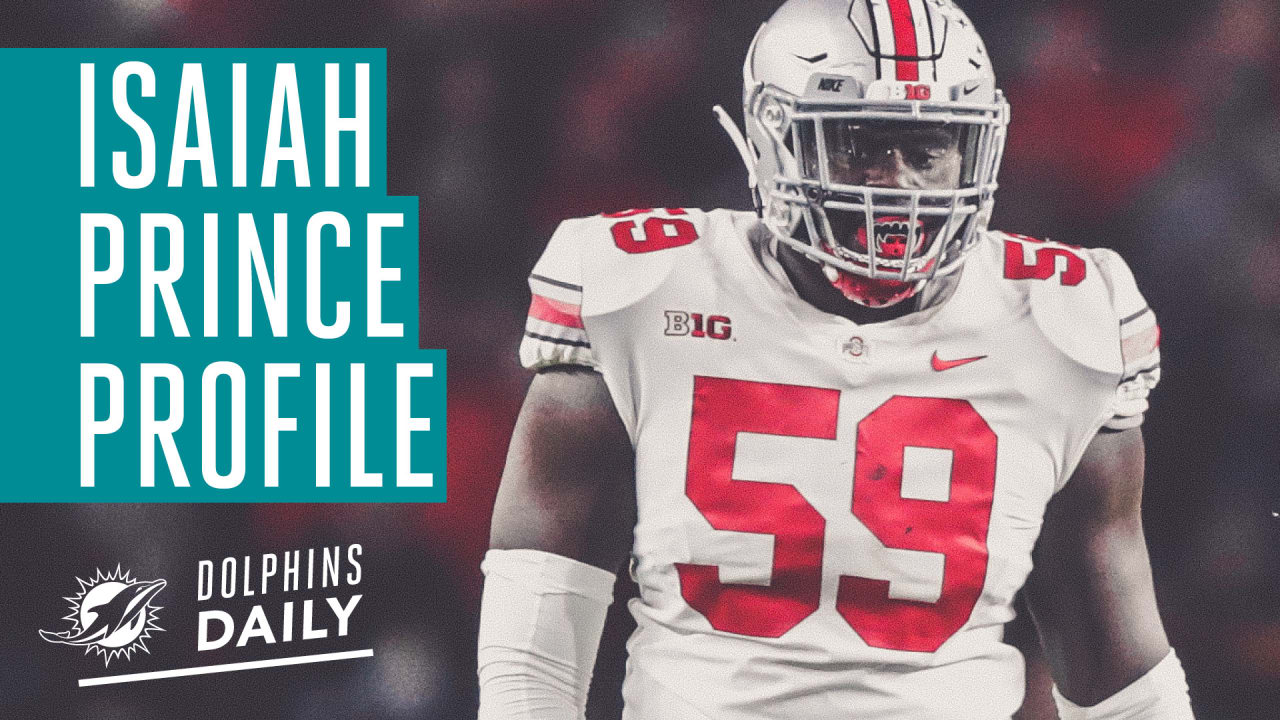 new style ead12 02aa9 Dolphins Daily: Draft Profile | Isaiah Prince