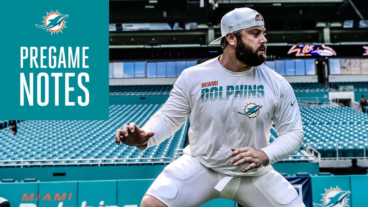 Pregame Notes | Dolphins vs. Ravens - MiamiDolphins