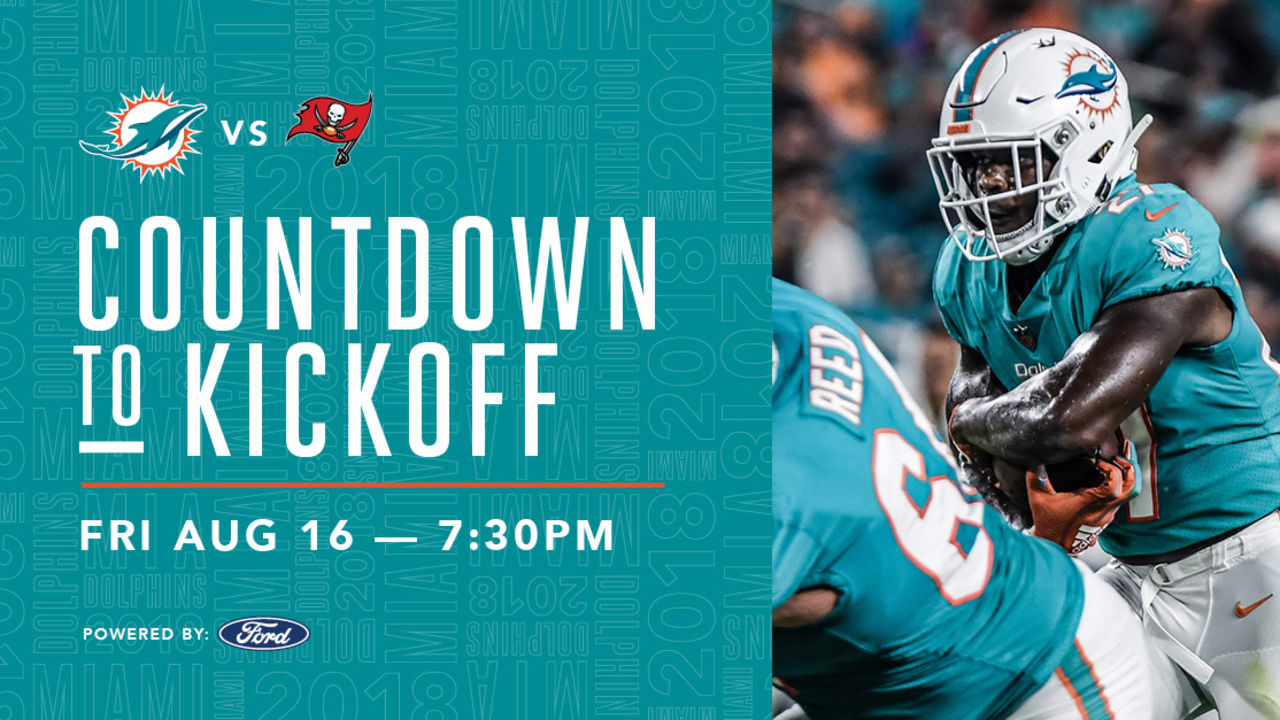 Countdown To Kickoff | Dolphins at Buccaneers