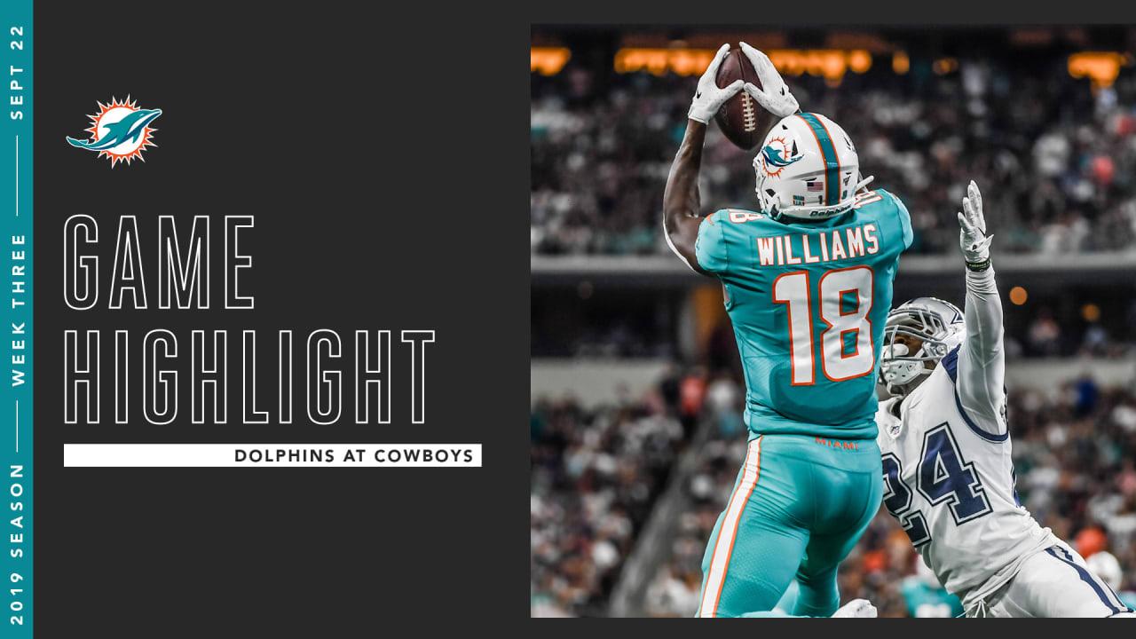 online retailer 3e12b e0bb5 Preston Williams Elevates For Impressive Catch In Dallas