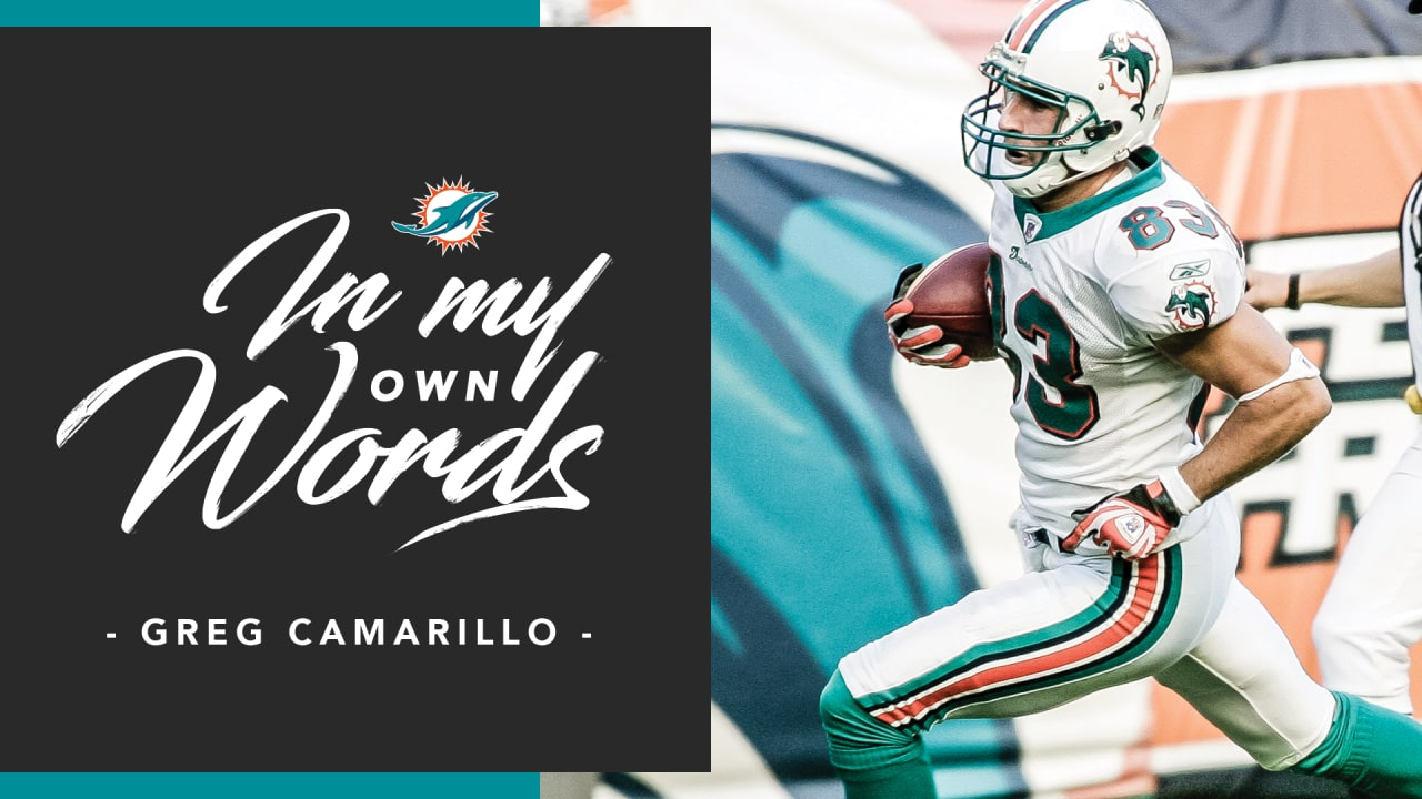 new arrival 3677f 2d6d3 In My Own Words | Greg Camarillo vs. Baltimore Ravens