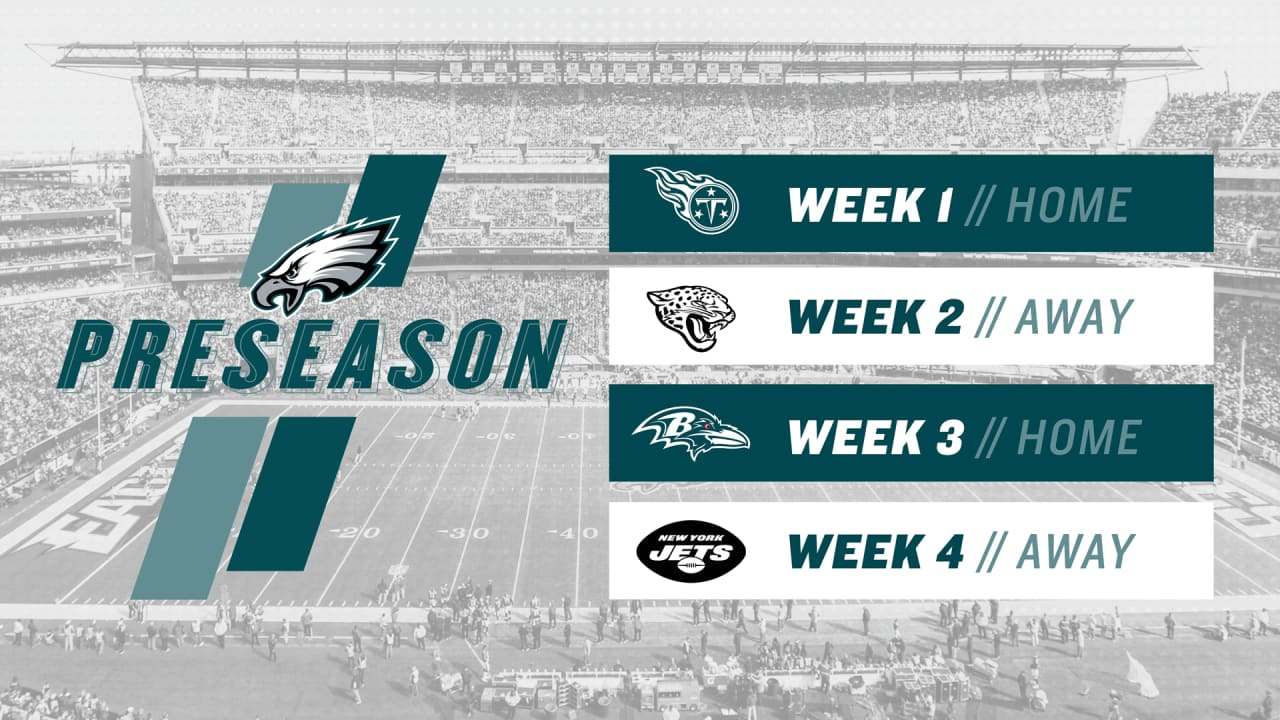 Check Out The Eagles 2019 Preseason Schedule