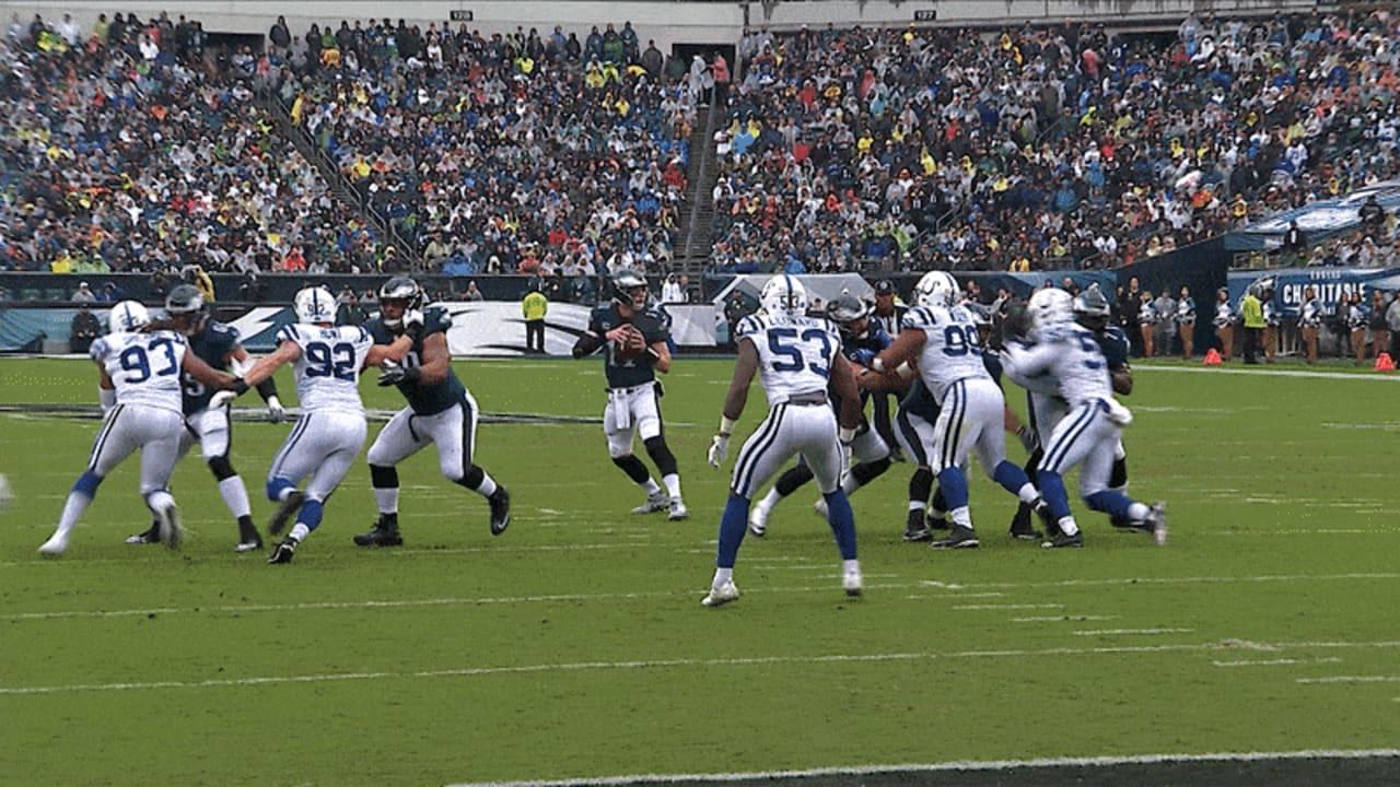 Carson Wentz Finds Dallas Goedert For A 13-Yard Touchdown 669b262fb