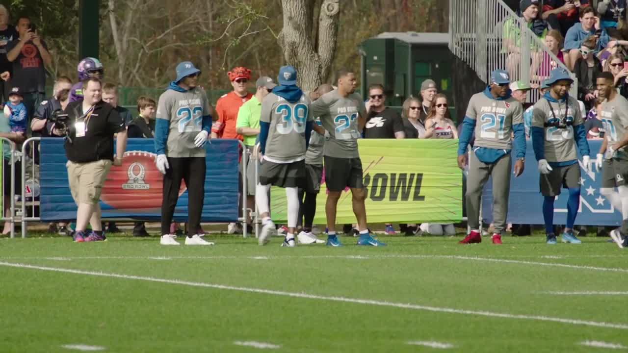 Audible  Malcolm Jenkins at the Pro Bowl d787586d8