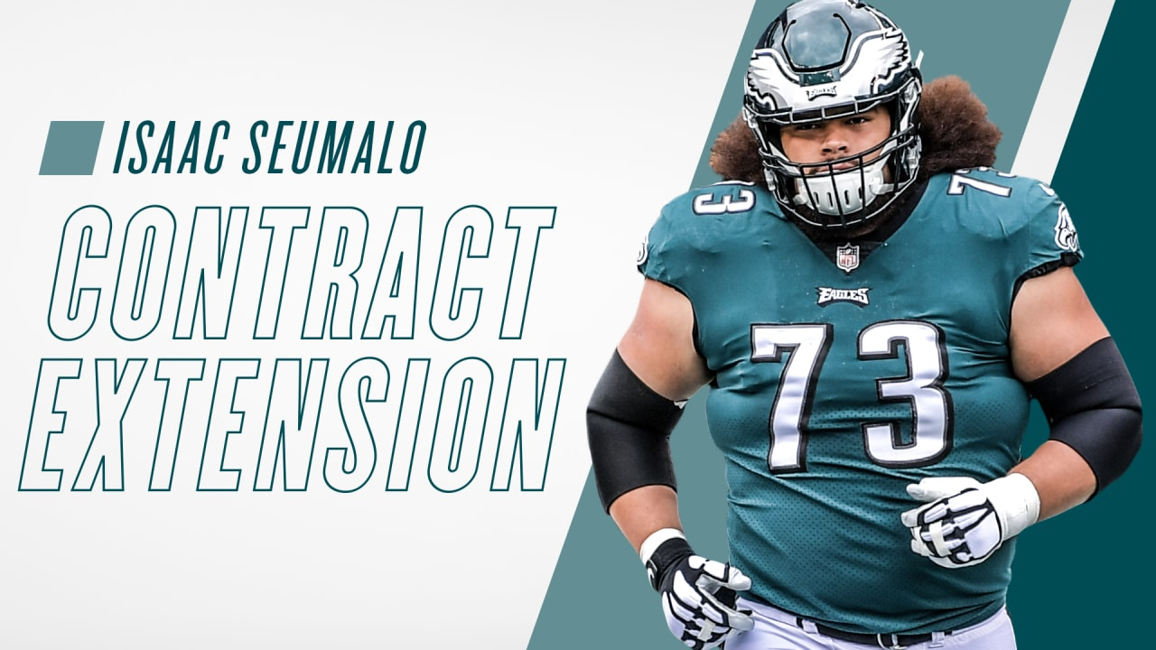 8e63f7bac Eagles agree to terms with OL Isaac Seumalo on a three-year extension