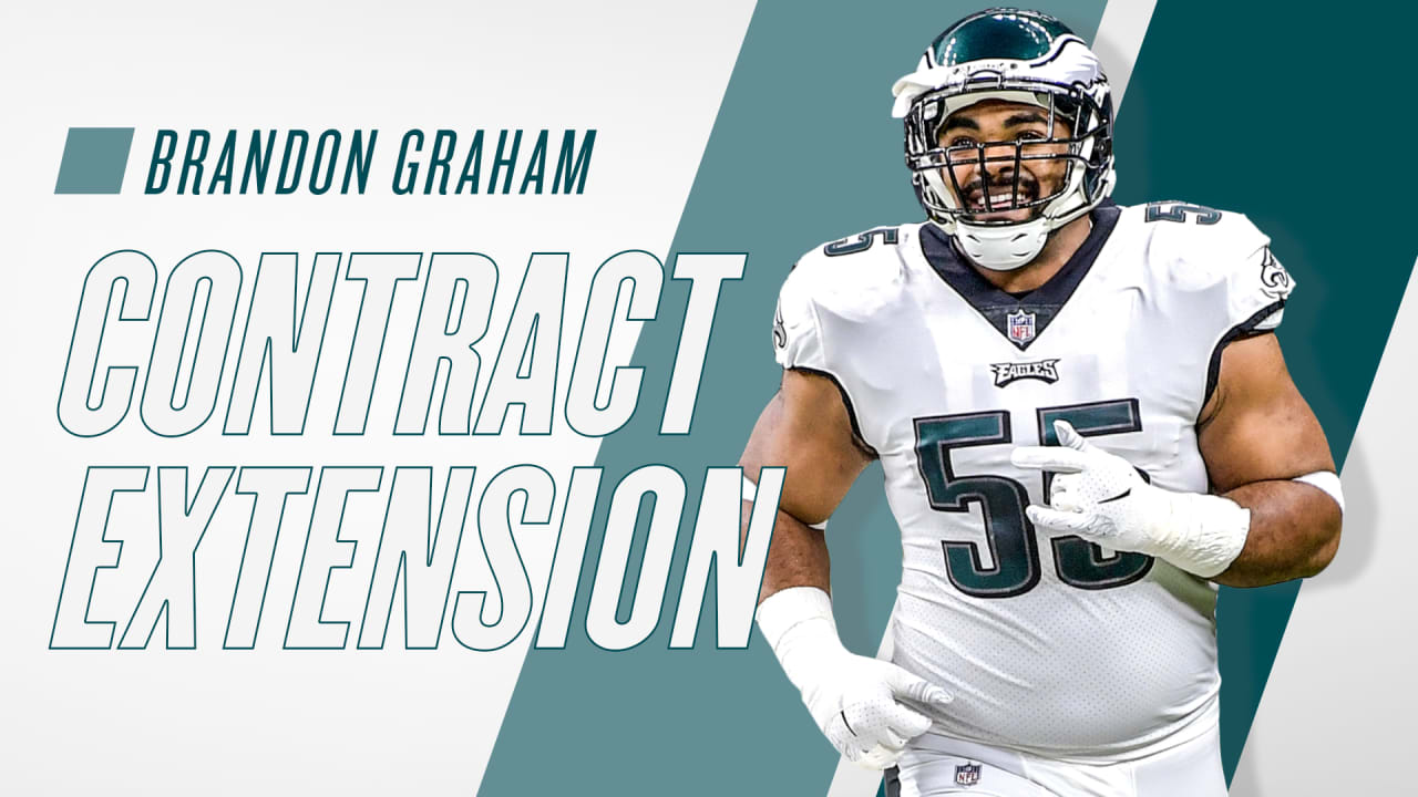 8c32c08c758 Eagles agree to terms with DE Brandon Graham on a three-year extension