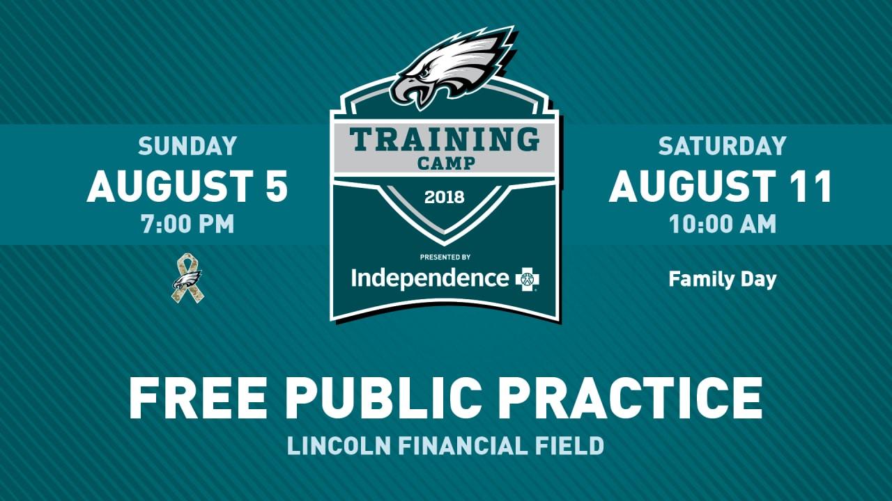 Philadelphia eagles training camp  tickets