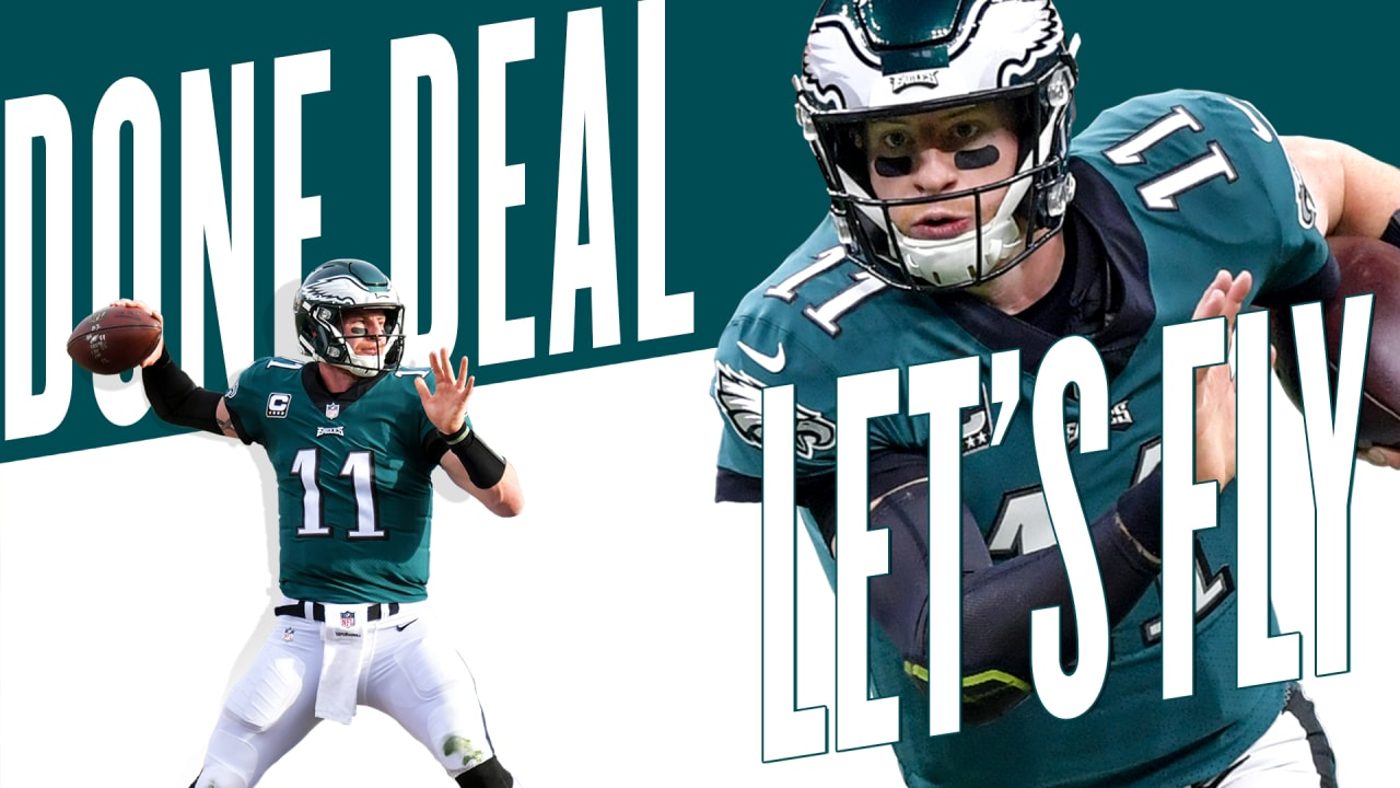 4b3f4bb5756 Eagles, QB Carson Wentz agree to terms on four-year extension