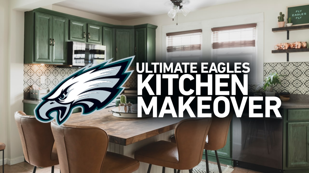 Eagles and Lowe's provide a deserving family with a life