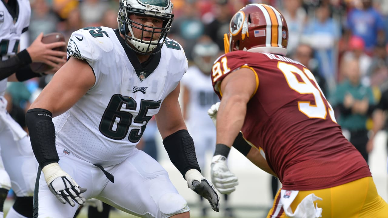 online store 87be4 021a2 Lane Johnson prepares for Ryan Kerrigan challenge