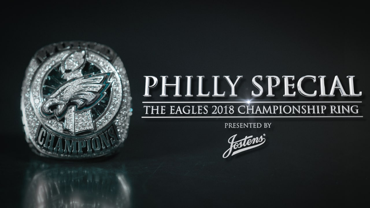 ab54ba154f8 Philly Special  The Eagles 2018 Championship Ring