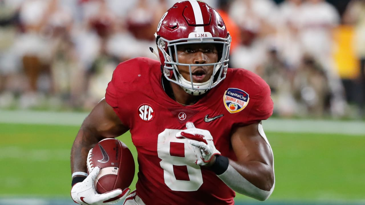 d872011ad20 Report  Eagles  really like  Alabama RB Josh Jacobs