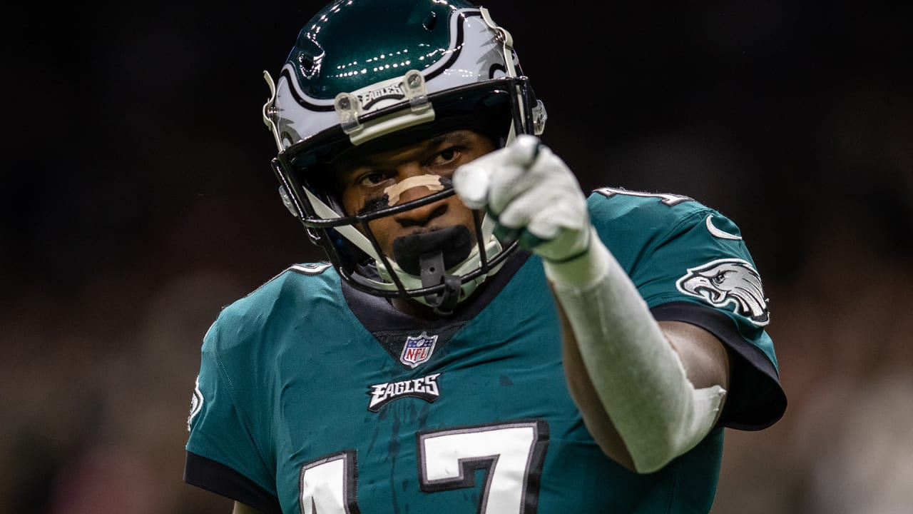 Eagles, WR Alshon Jeffery agree to terms on a restructured