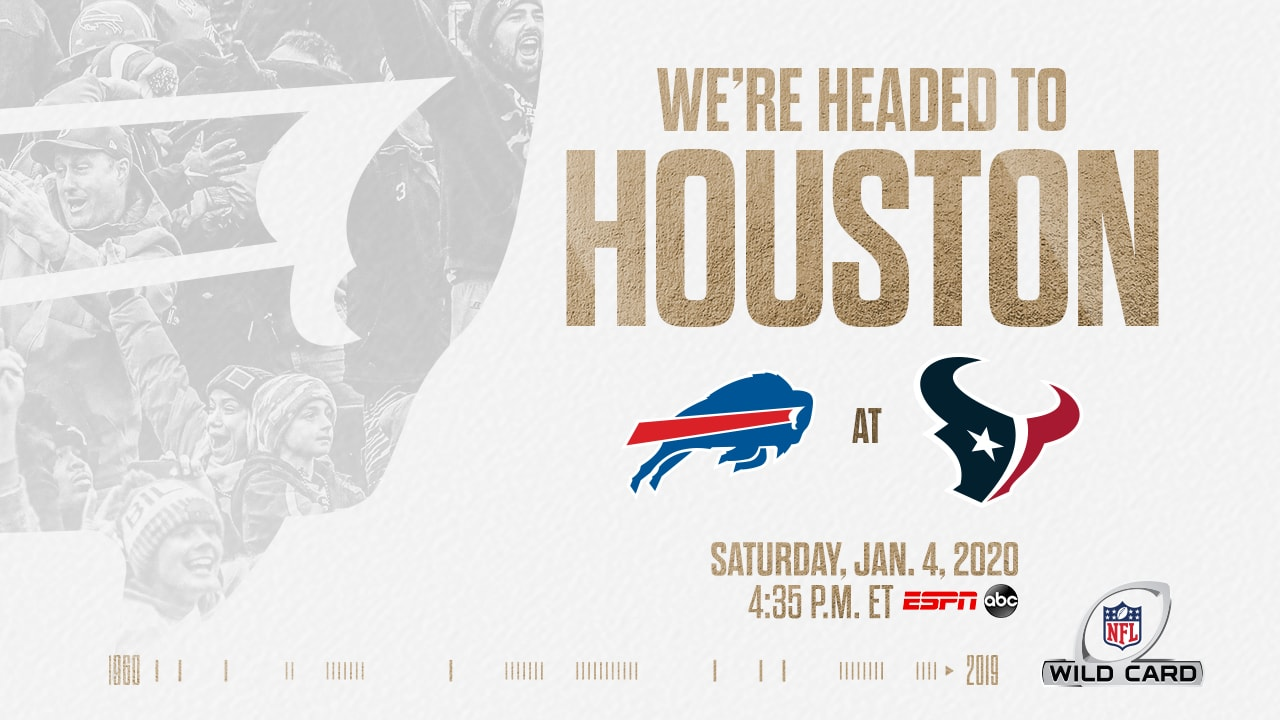 Bills to face Houston in AFC Wild Card playoff matchup