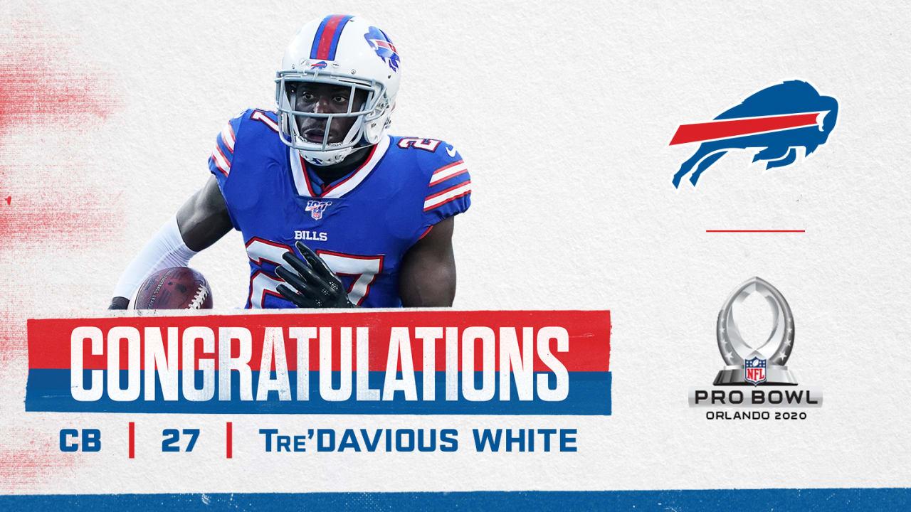 Tre'Davious White named to first Pro Bowl