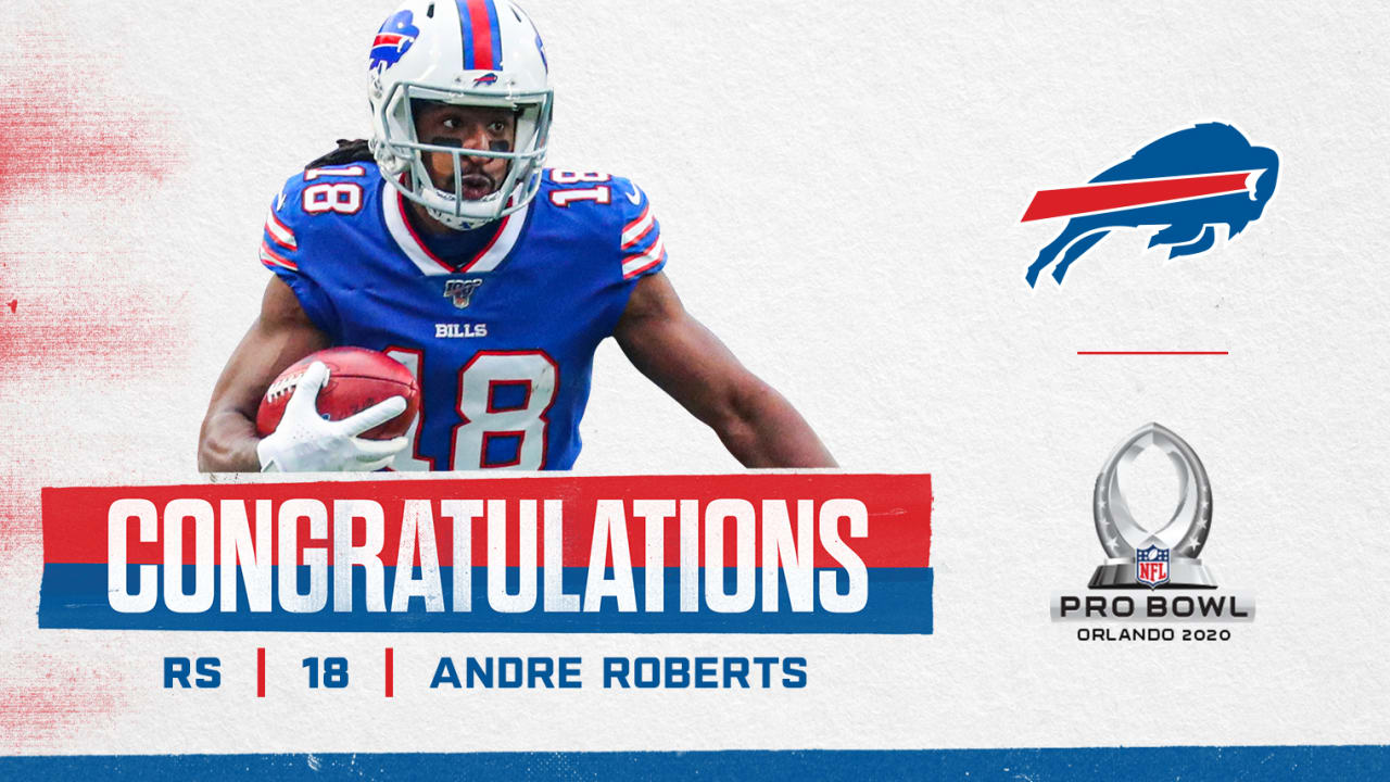 Andre Roberts named to the Pro Bowl