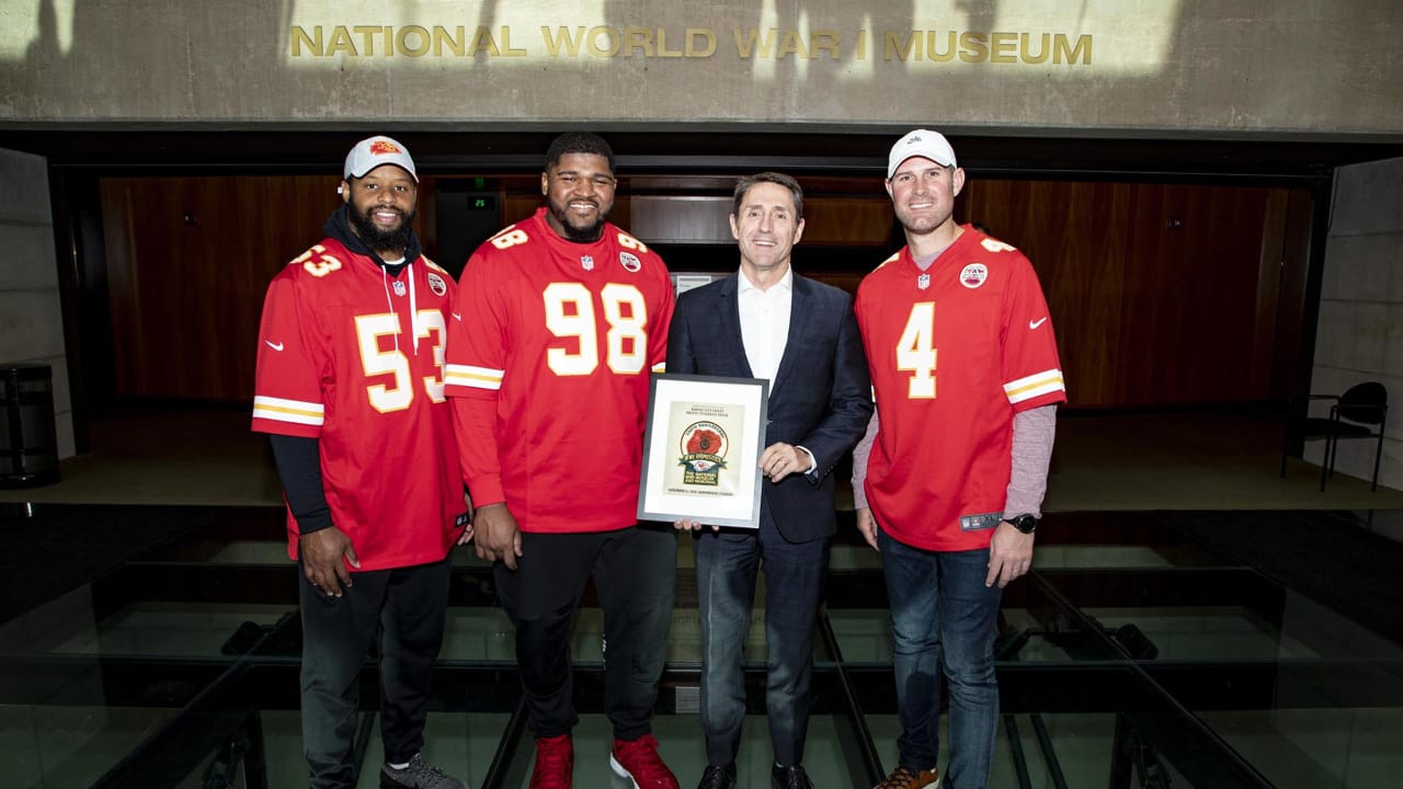 Salute to Service: Chiefs Unveil Special Veterans Day Patch During Visit to the World War I Museum