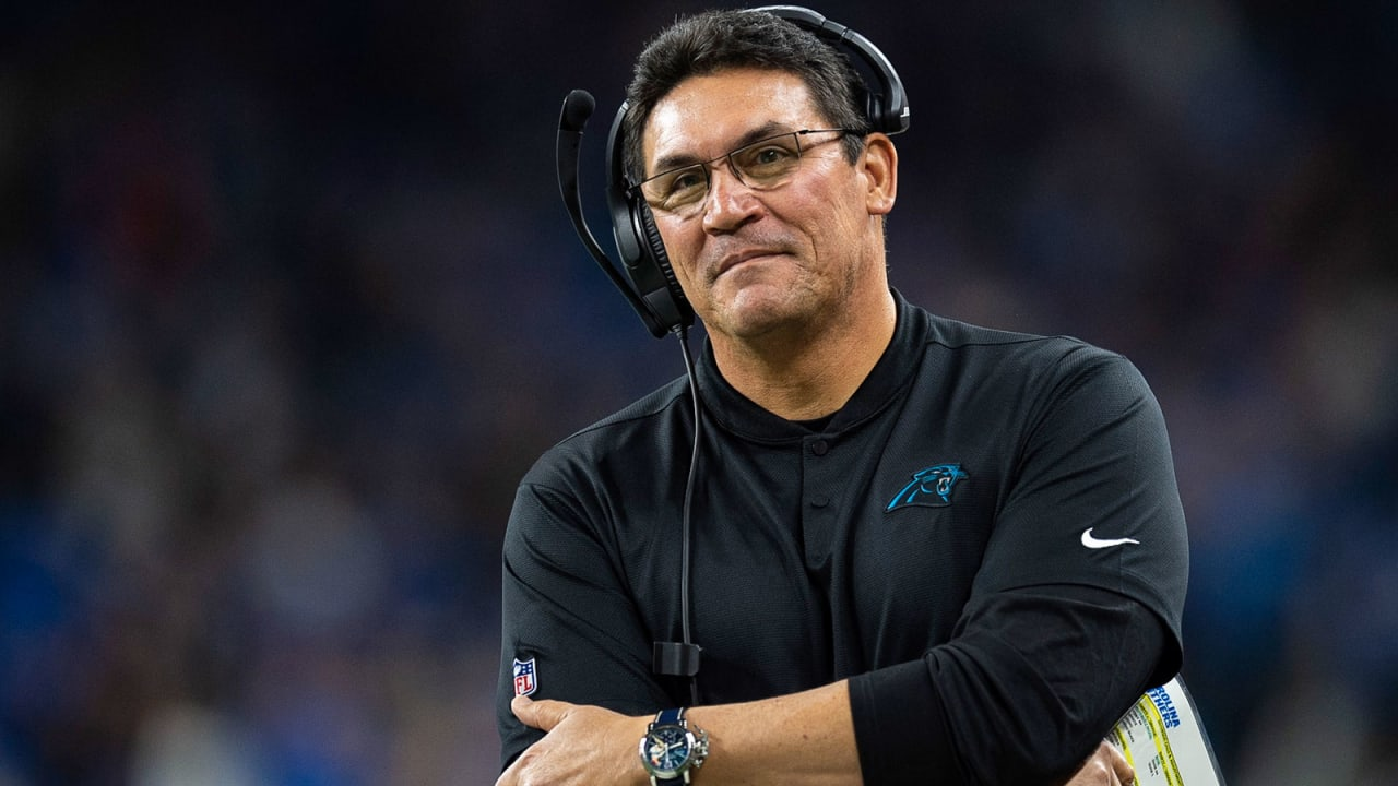 """So many fond memories."" Ron Rivera reacts to being let go after nine years in Carolina"