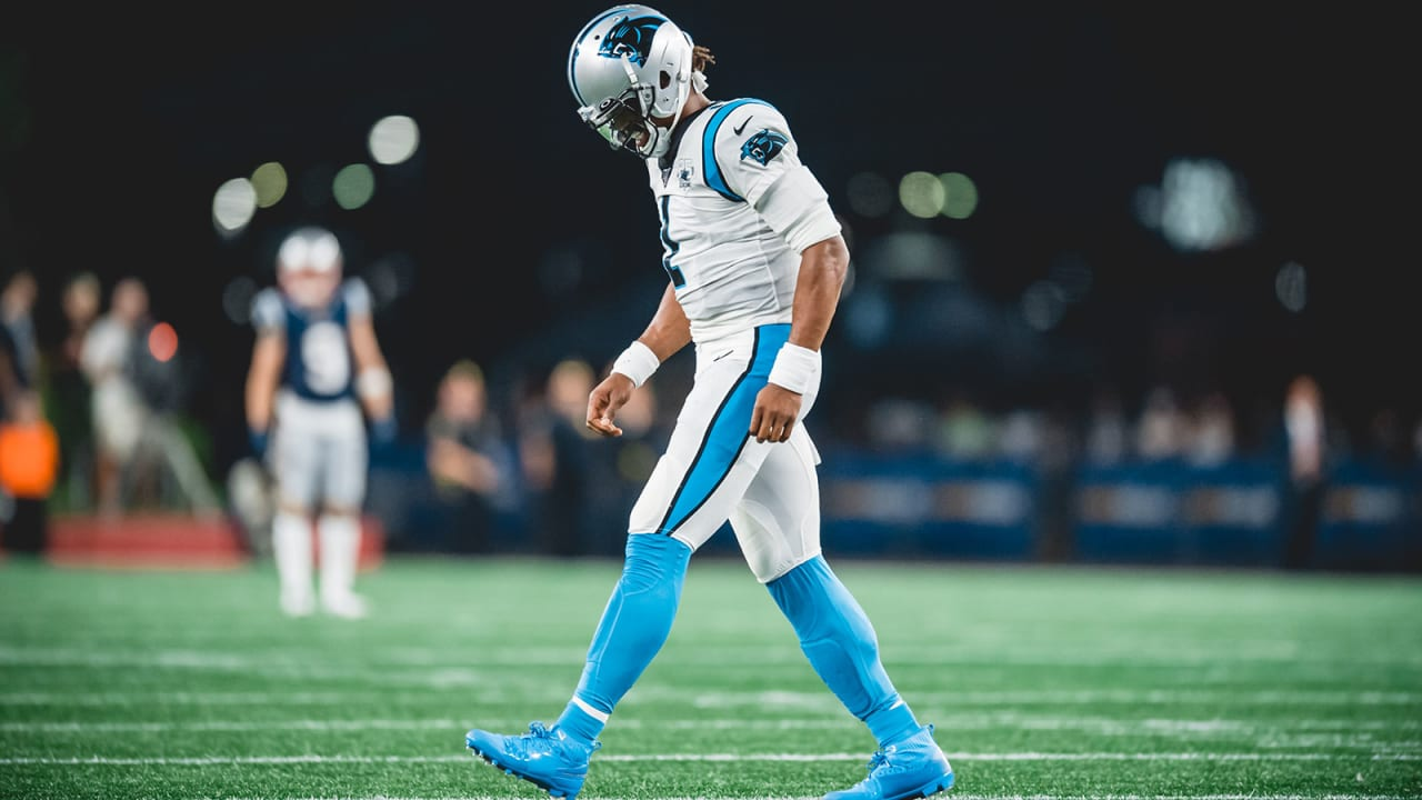 Cam Newton suffers foot injury but it's reportedly 'not serious,' QB seen in a walking boot