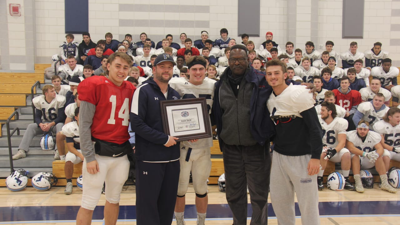 FHSl's Eian Bain named Patriots High School Coach of the Week