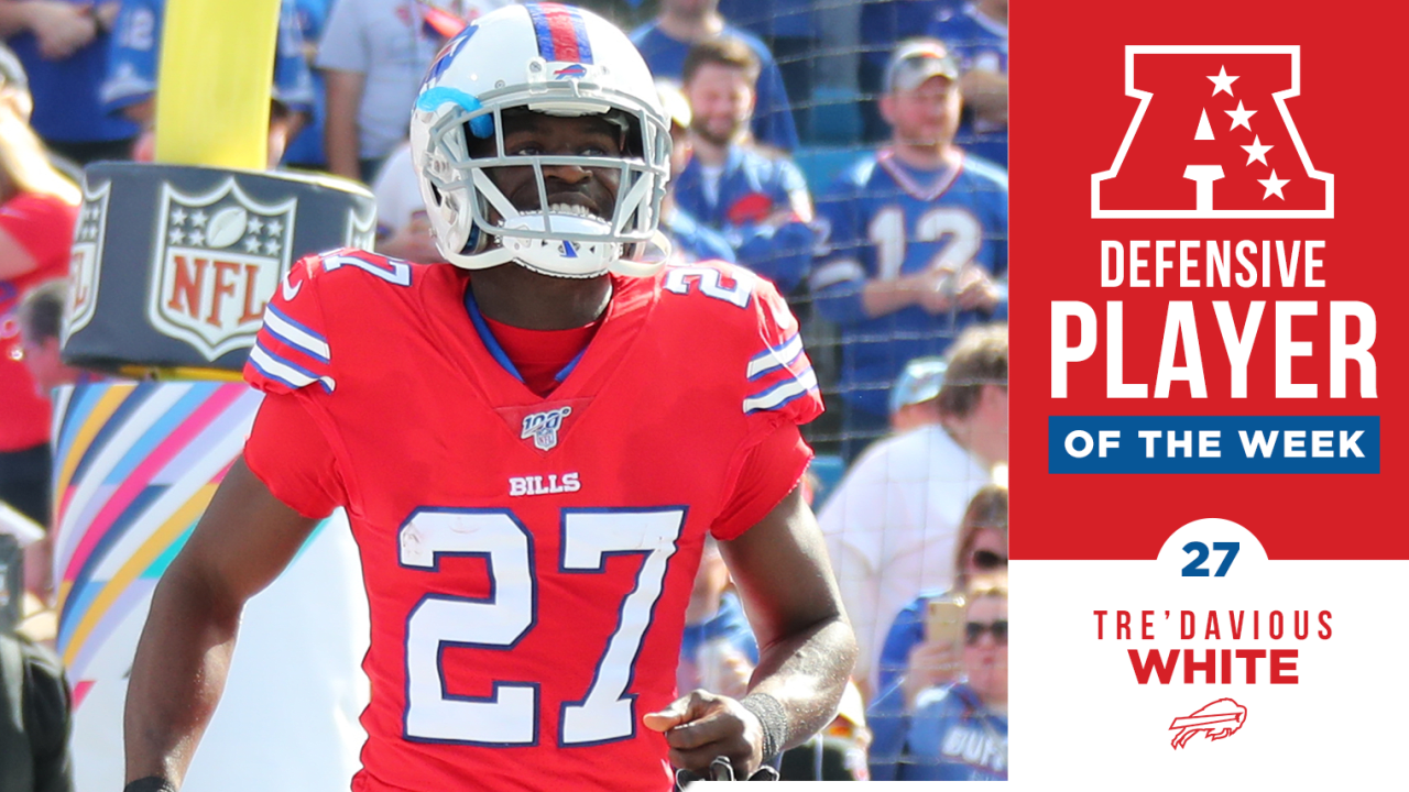 Tre'Davious White named AFC defensive player of the week