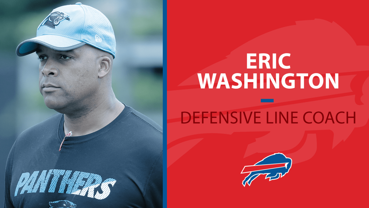 Bills hire Eric Washington as new defensive line coach