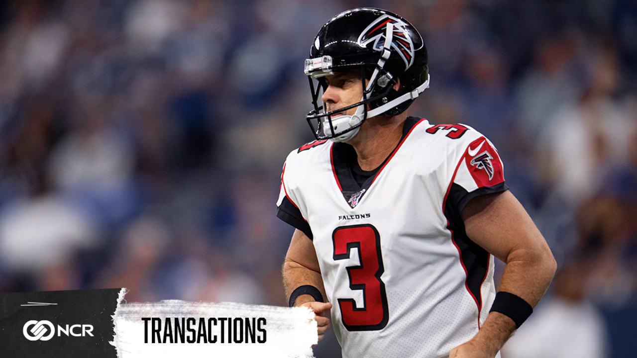 Falcons part ways with longtime kicker Matt Bryant