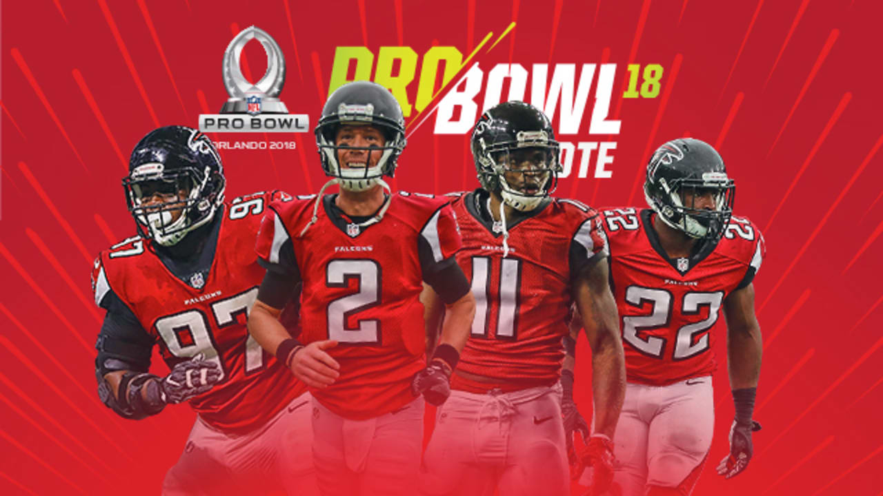 first rate 34322 f5706 Get the Falcons into the 2018 Pro Bowl