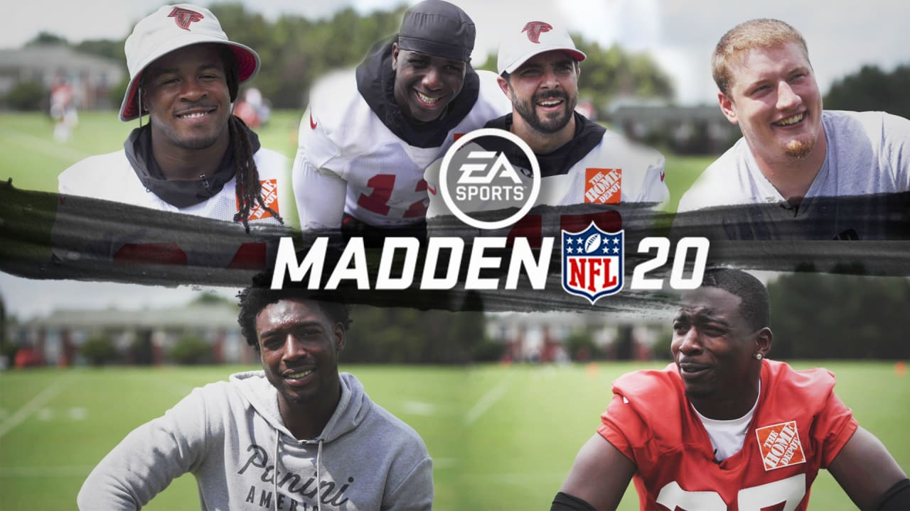Falcons Players React To Madden 20 Ratings