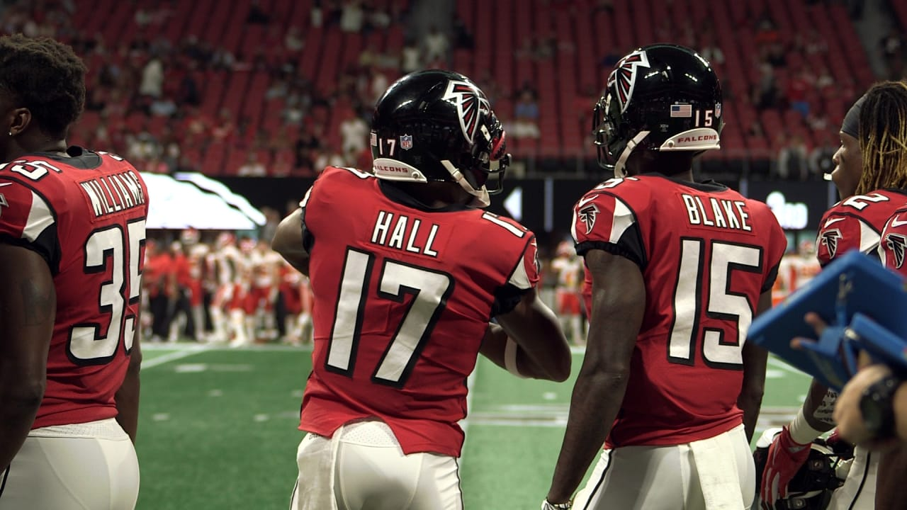 hot sale online f8761 7ffdf Falcons vs. Chiefs wired: WR Marvin Hall
