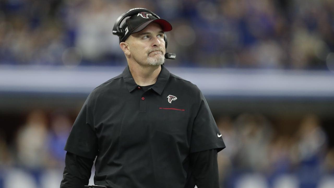 Dan Quinn on Falcons' 16 penalties: It's hard to overcome that - AtlantaFalcons.com