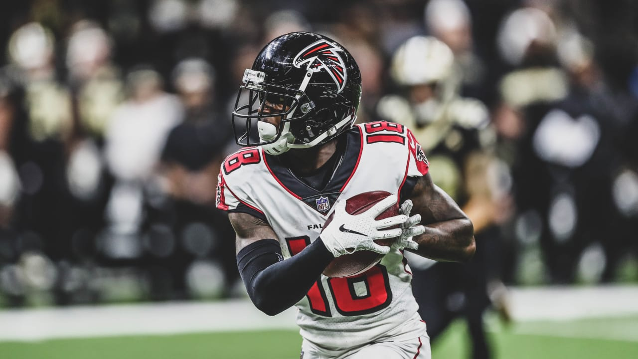 Watch Calvin Ridley Leads Falcons Scoring Drive With Two Big Catches
