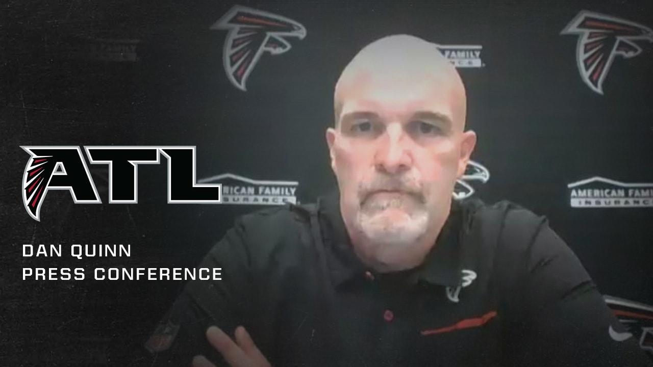 Dan Quinn Postgame Press Conference Falcons Vs Cowboys
