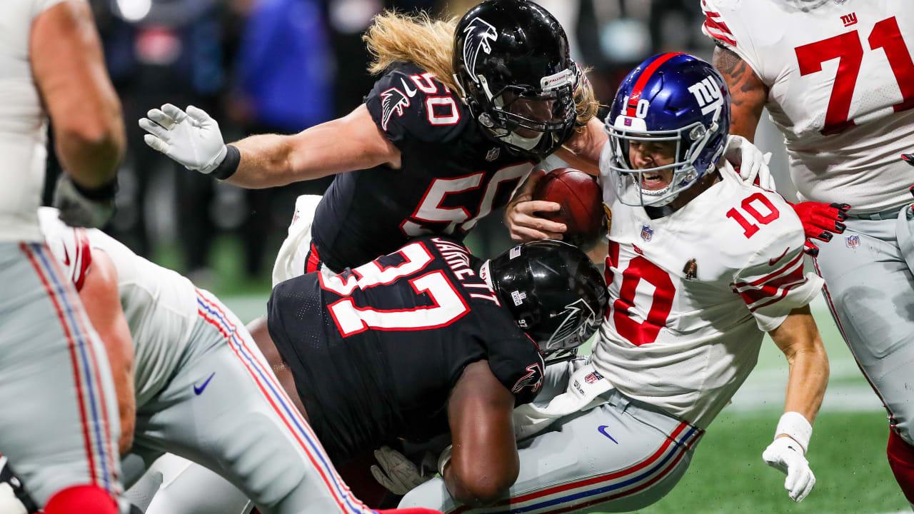 The Falcons' five best defensive performances of 2018
