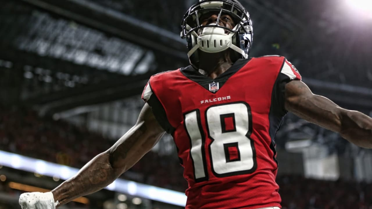 Watch Wr Calvin Ridley S First Career Nfl Touchdown