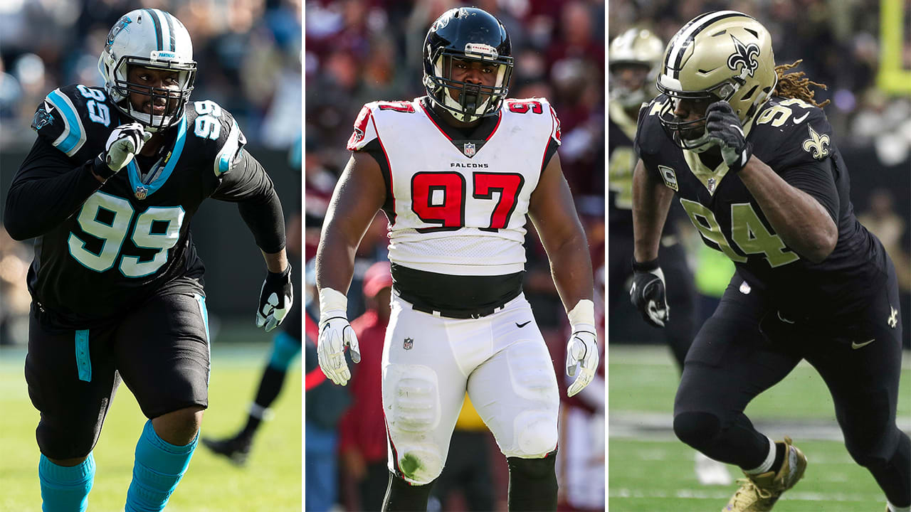 dea321ae Ranking the NFC South's defensive line groups: Falcons looking to ...