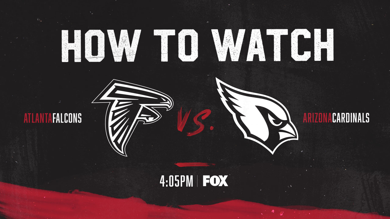 How To Watch Falcons Vs Cardinals Time Tv Live Stream