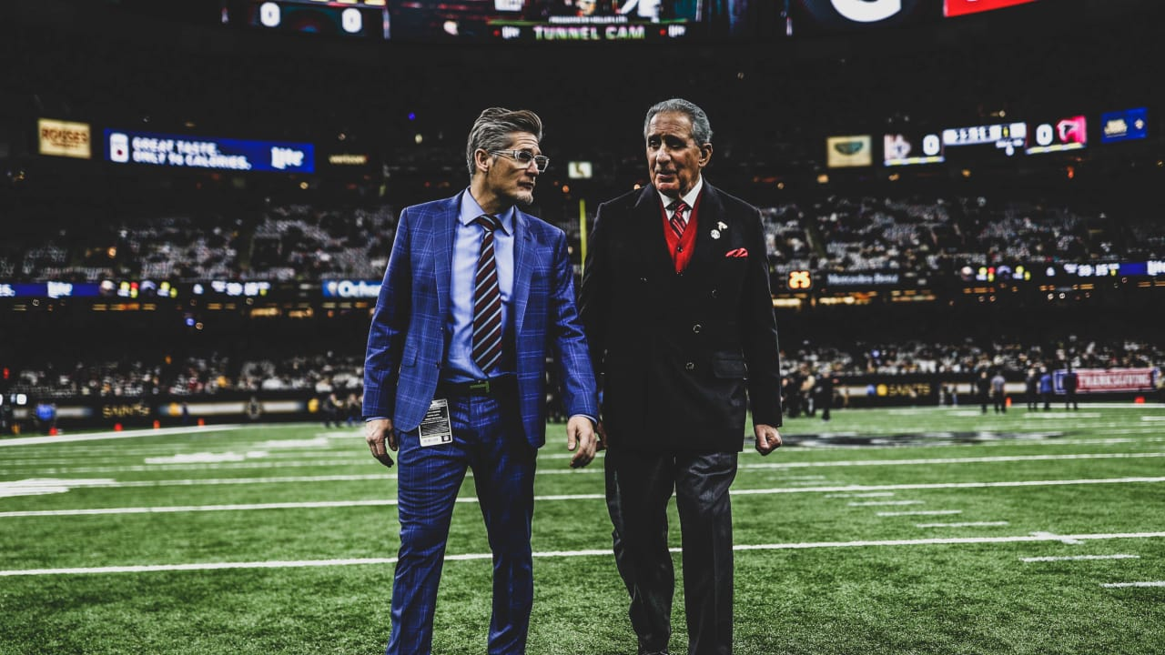 1dee23c0 Early Bird Report: Arthur Blank counting on Falcons' leaders to find ...