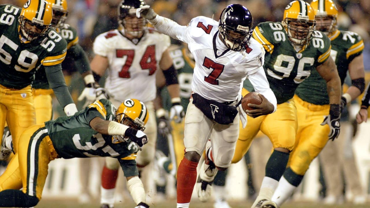 Michael Vick-led win at Lambeau Field highlights list of five best Falcons- Packers games