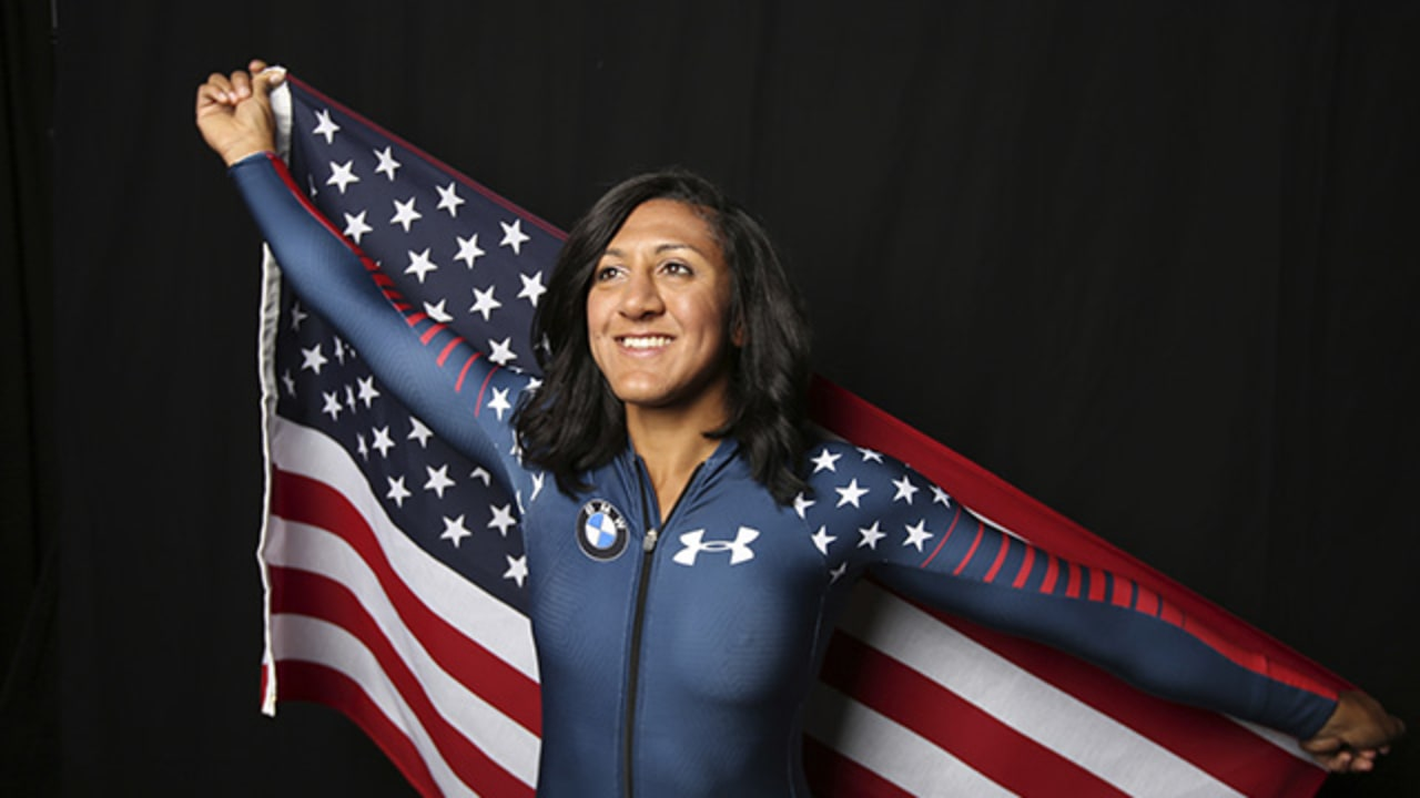 Daughter Of Former Falcons Running Back Chasing Gold At The Winter Olympics