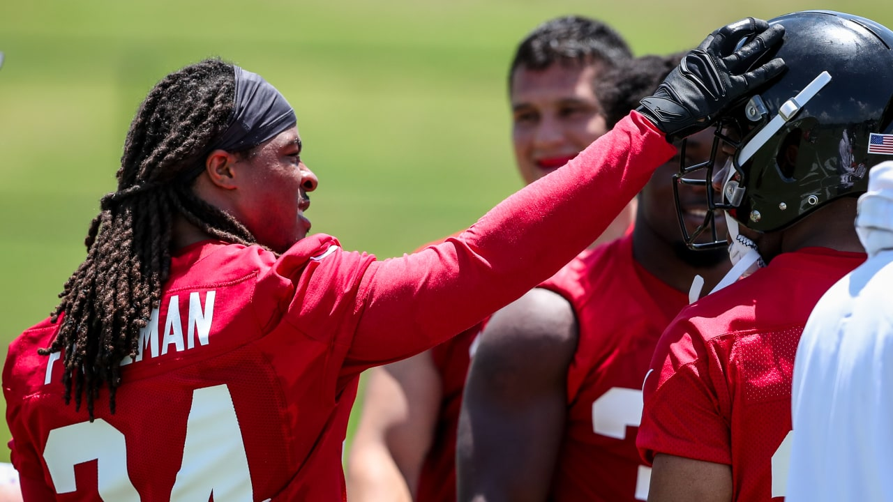 Devonta Freeman excited to be back to work