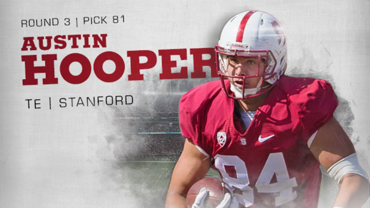 Falcons Snag Stanford TE Hooper in Third Round