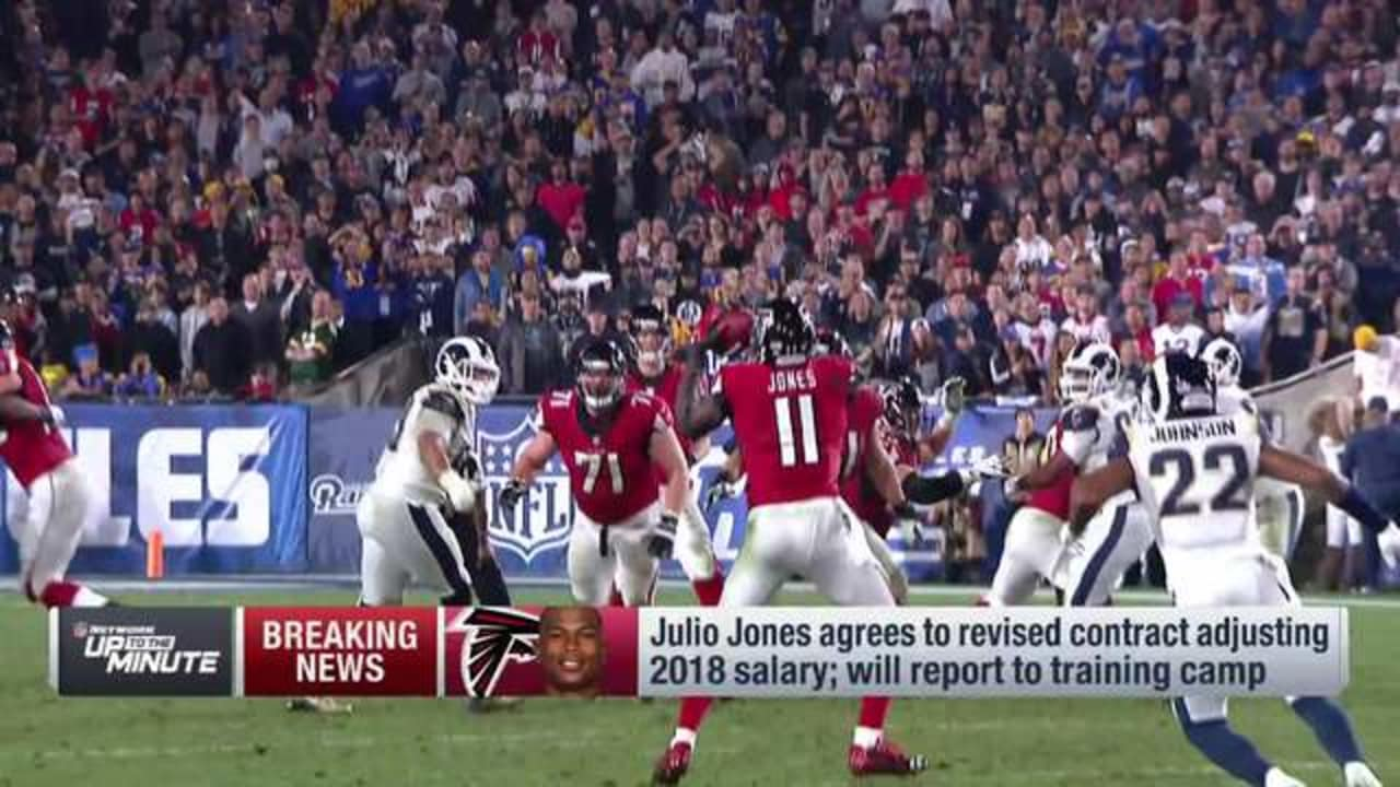 a2e1f6e5c2b WR Julio Jones agrees to revised contract
