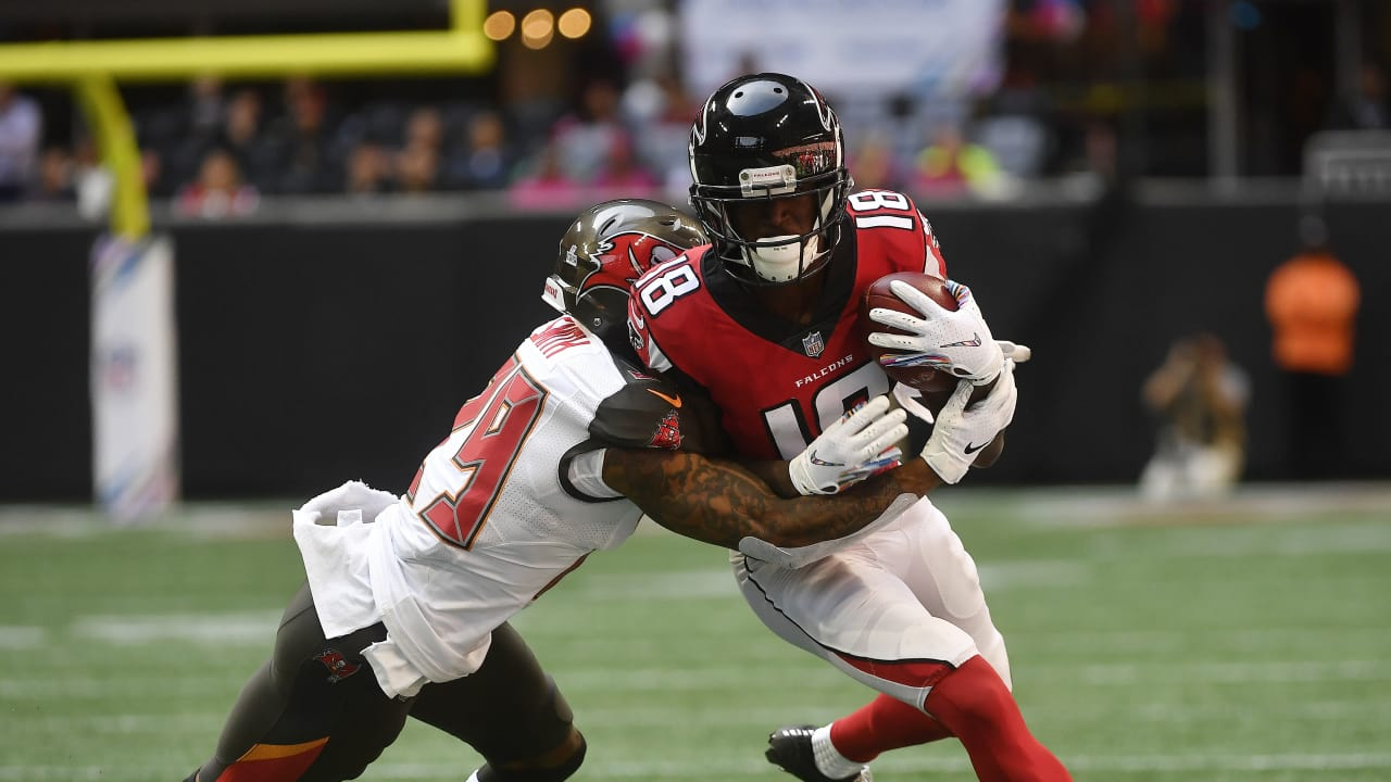 Calvin Ridley Out For Remainder Of Falcons Vs Buccaneers