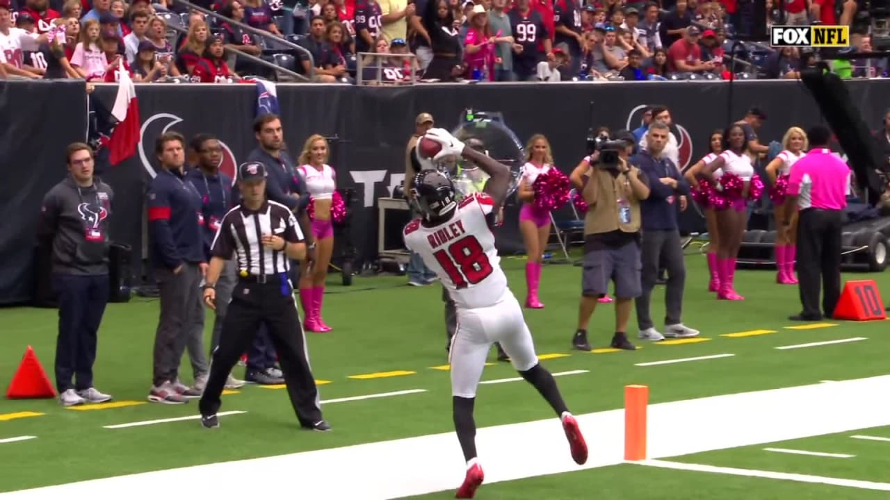 Highlight Calvin Ridley Stays Inbounds Toe Taps For 29 Yard Td