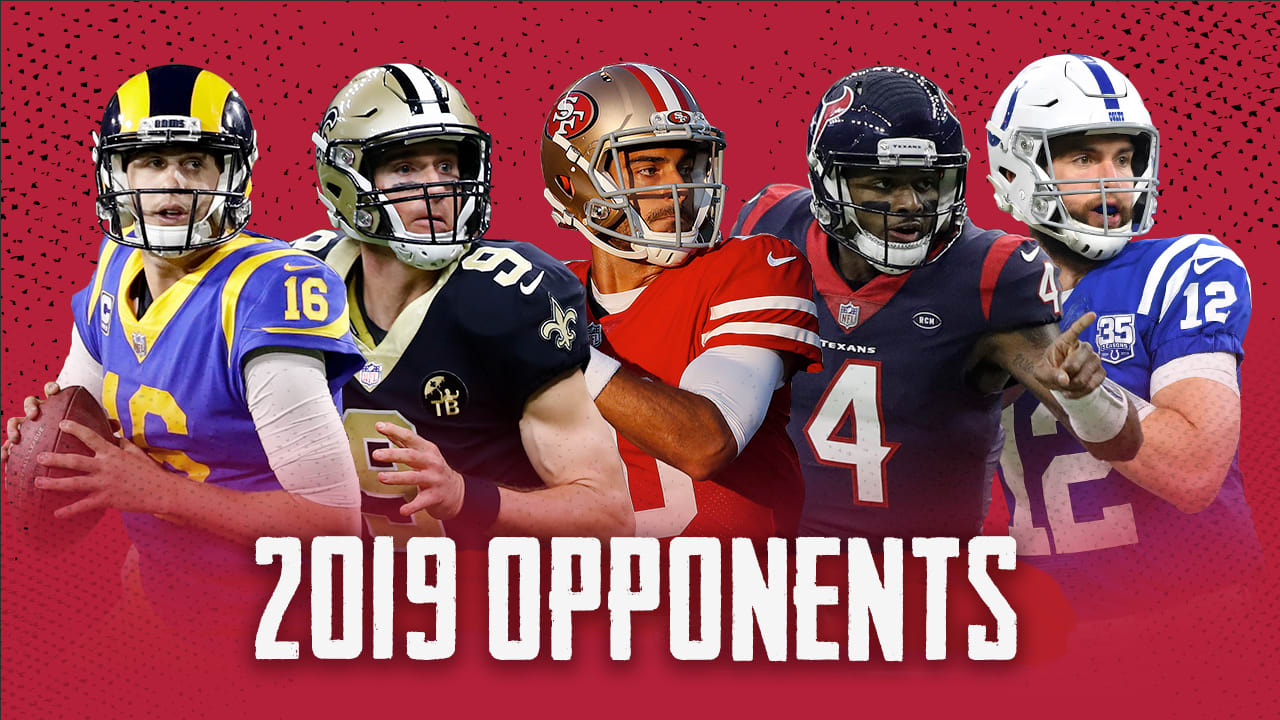 Calendrier Nfl 2020 2019.Falcons 2019 Schedule Opponents Officially Set